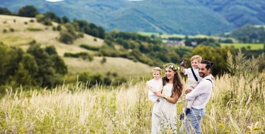 Amazing Boho wedding of Ina & Juraj