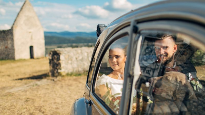 Nature summer wedding of Lenka & Gregor