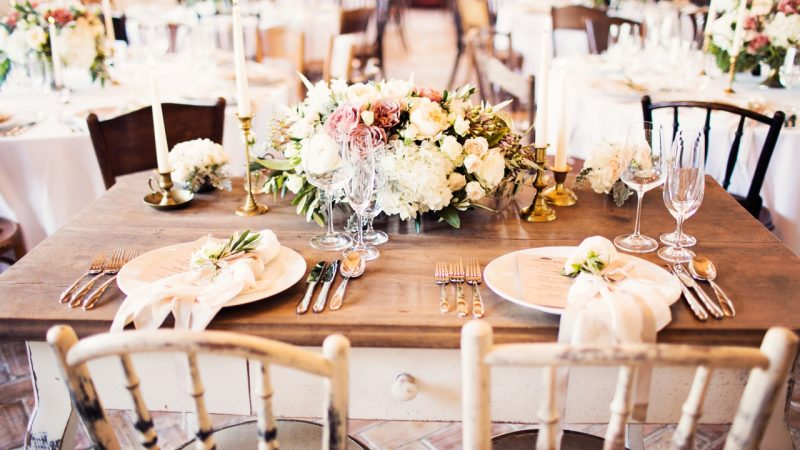 Stylish wedding in Wieger Villa